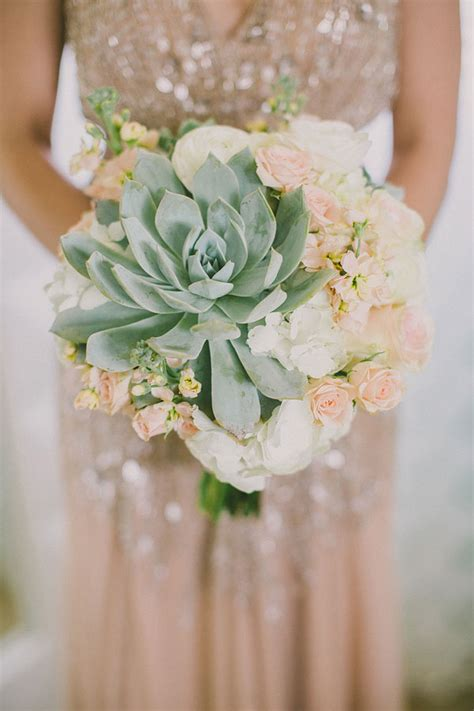 Wedding Bouquets Using Succulents by 35 Succulent Wedding Ideas For Your Big Day Tulle