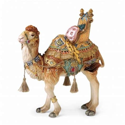 fitz and floyd nativity nubian camel figurine nib
