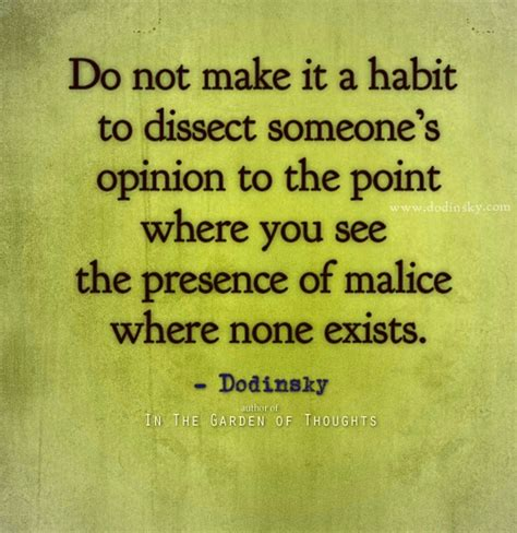 8 Ways To Bring Attention To A Cause by Do Not Make It A Habit To Dissect Someone S Opinion To The