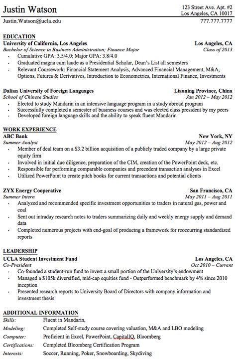 Resume Exles After College Professional Resume Templates For College Graduates