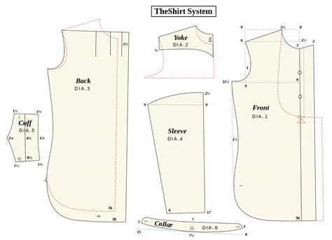 pattern making of polo shirt file the shirt system sewing pattern svg wikimedia commons