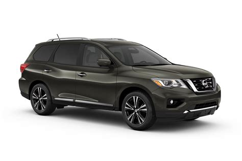 nissan black 2017 2017 nissan pathfinder first look motor trend