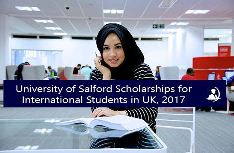 Scholarships For International Students In Usa Mba by Of Salford Scholarships For International