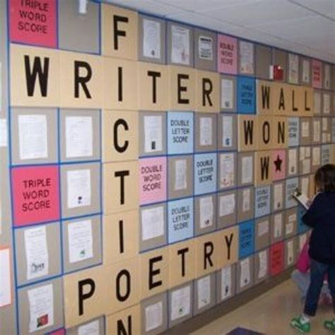 wall scrabble board scrabble theme writing display write or wrong