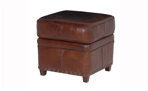antique ottomans footstools vintage leather ottoman with free delivery