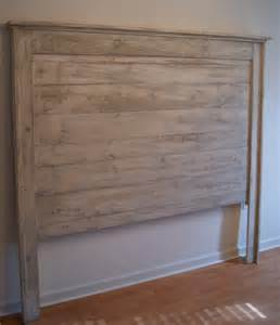 headboard for bed shabby chic weathered white