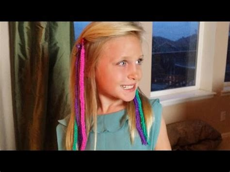 hair styes for girls with loom bands how to make rainbow loom hair extensions loomtastic links