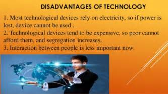 Advantages Of Modern Technology Essay by Advantages And Disadvantages Of Technology