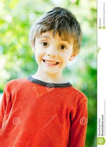 Backyard For 7 Year Olds Outdoor 7 Year Portrait Royalty Free Stock Photography