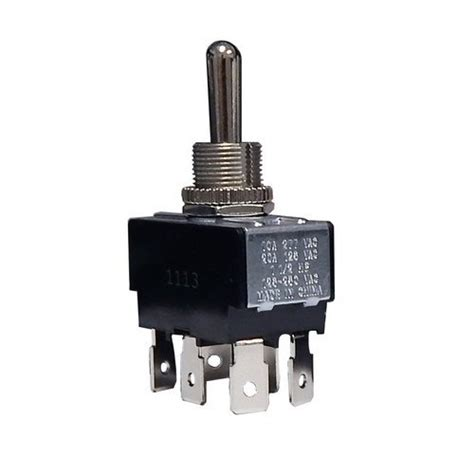 heavy duty toggle switch dpdt on on connect