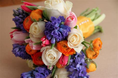 diy fresh flower wedding bouquets hgtv