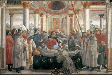 how st died in tuscany domenico ghirlandaio the sassetti