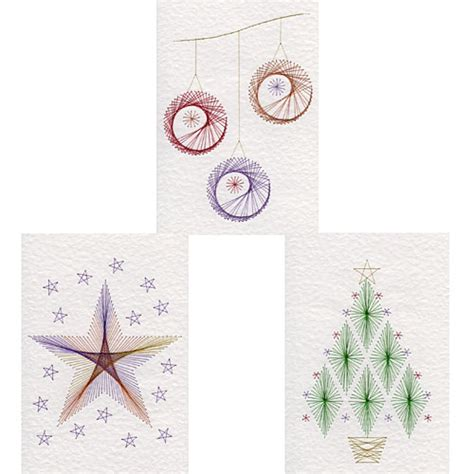 tree card stitch template and flower stitching patterns added at form a