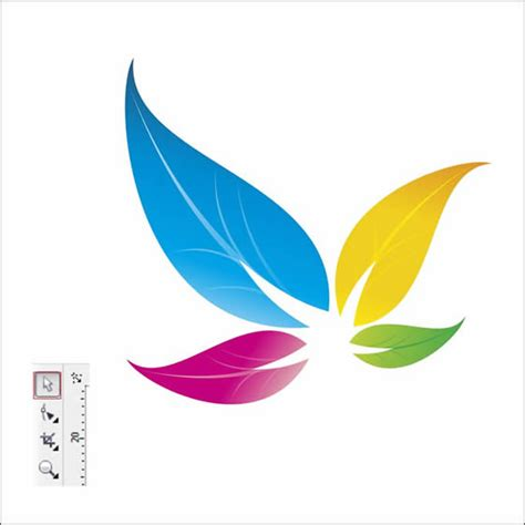 design logo flower colorful floral logo design in corel draw tutorial corel