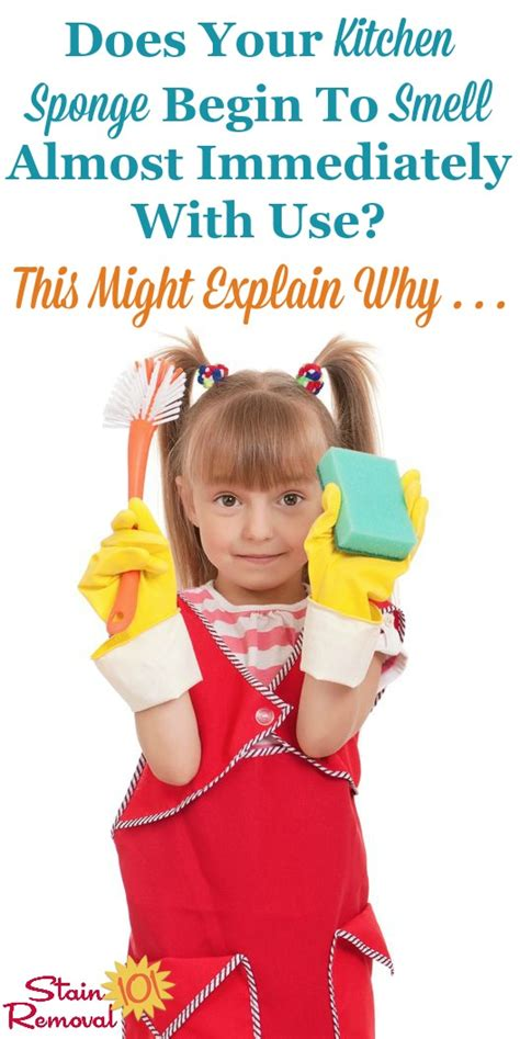 How To Clean A Smelly Kitchen Sponge by Does Using Cause Smelly Sponges
