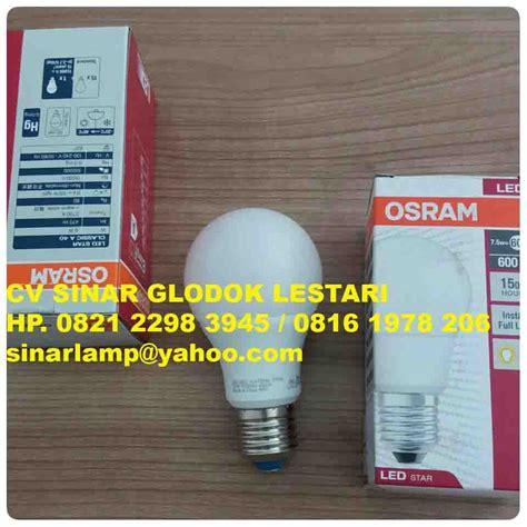 Lu Led Osram 20 Watt lu led bulb osram 7 5 watt