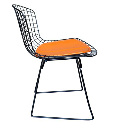 Bertoia Chair by Vintage Harry Bertoia For Knoll Black Side Chair Ebay