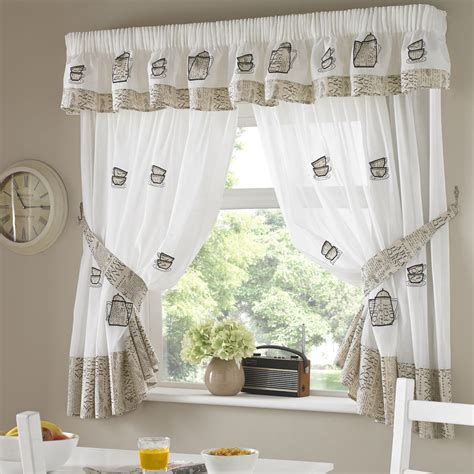 Kitchen Curtains Uk Coffee Pots Kitchen Curtain Kitchen Curtains Curtains Linen4less Co Uk