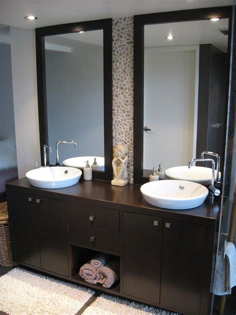 framed bathroom vanity mirrors corner sinks for frameless