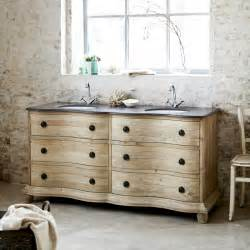 Hermione Double Washstand In Pine Bathroom Furniture Bathroom Cabinets Double Sink