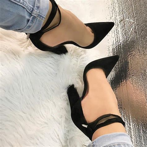 Laced Up Open Toe Chunky High Heels Import 1 22 amazing heels 50 to grab this month