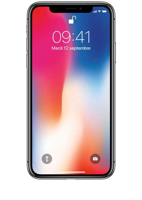 l iphone x gris sid 233 ral 64go dites bonjour au futur sosh fr
