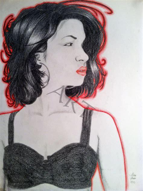 Selena Q Drawing by Selena Quintanilla By Tijolinhobrincando On Deviantart