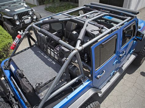Jeep Jk Roll Cage Jk 4 Door Roll Cage Kit Genright Jeep Parts