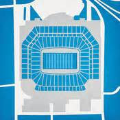 detroit lions 3d seating chart ford field detroit lions football stadium stadiums of