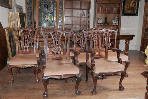 chippendale dining room furniture dining table set chippendale chairs set suite