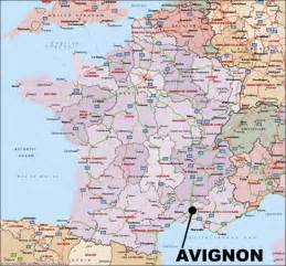 Avignon France Map journey of an obsession avignon france
