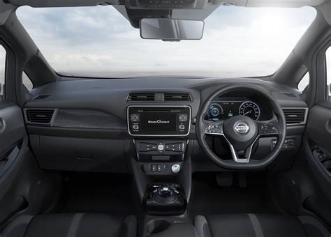 nissan leaf 2017 interior all new 2018 nissan leaf unveiled with increased power