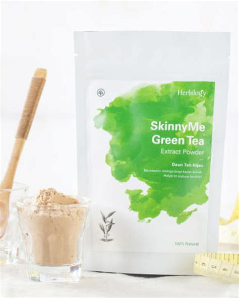 herbilogy green tea extract powder 100gr