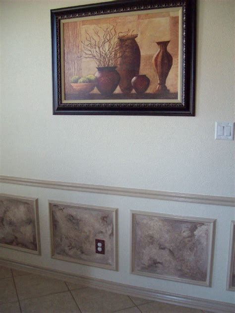 faux chair rail 1000 images about chair rail ideas on paint