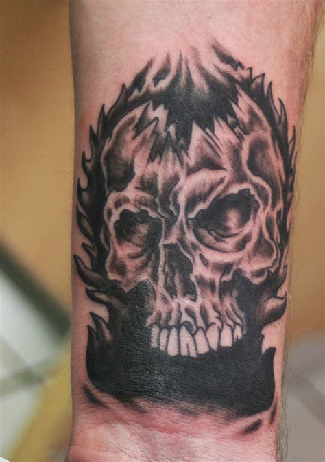 skull tattoos on wrist 20 skull wrist tattoos design
