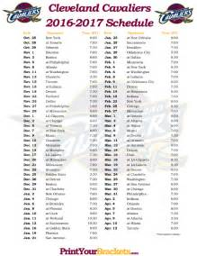 cavs home schedule printable cleveland cavaliers basketball schedule 2015 2016