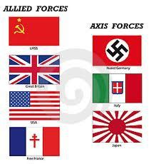 flags of the world quizlet wwii axis and allies world war ii pinterest history