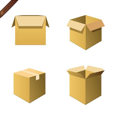 Cardboard Box Templates by 11 For Box Templates Vector Images Vector Packaging Box