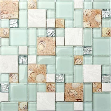 Design House Bath Hardware kitchen bath mosaic tile glass seashell wall backsplash