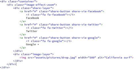 membuat zoom image dengan javascript membuat image hover effect zoom kursus web design
