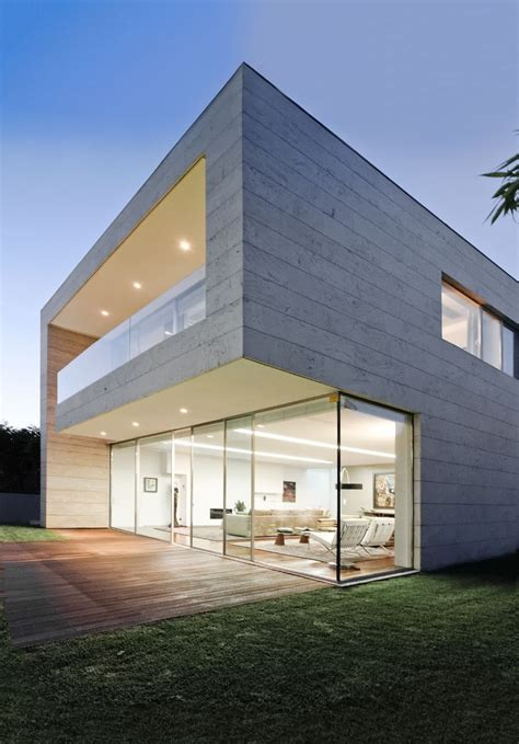 modern home design glass luxury glass and concrete home design at open block house