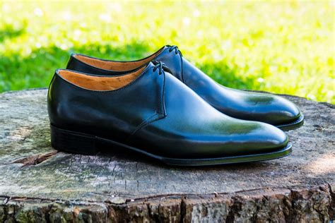 black dress shoes franklin bespoke shoemakers