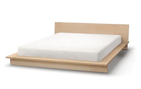 maple platform bed maple beds solid wood beds natural bed company