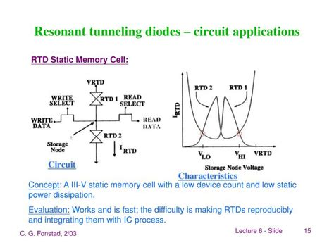 resonant tunneling diode ppt quantum heterostructures coupled quantum powerpoint presentation id 1136506