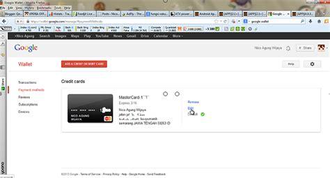 cara membuat akun google wallet mendaftar dan verifikasi google wallet menggunakan