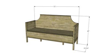 plywood sofa plans build a gustavian sofa designs by studio c