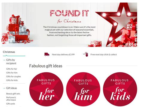 quick tips from the big brand christmas landing pages