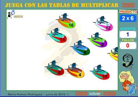 tablas de multiplicar juego para el aula aula de elena juegos para aprender las tablas de
