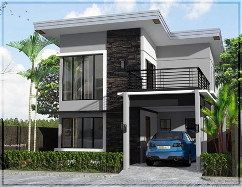 2 story home design unique modern 2 storey house designs modern house plan