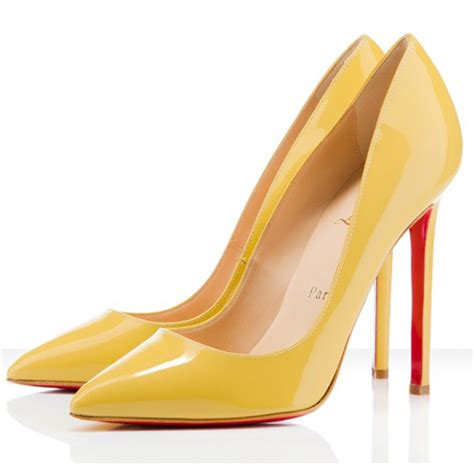 yellow high heel shoes patent leather pointed toe pumps yellow high heel shoes